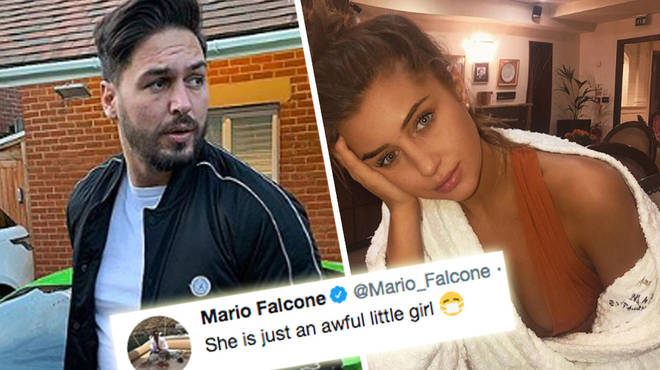 Mario Falcone hit out at Georgia Steel over her behaviour on Celebs Go Dating.
