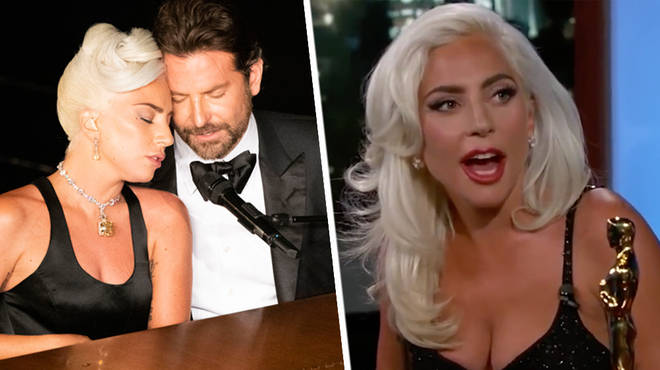 Lady Gaga responds to Bradley Cooper romance rumours.