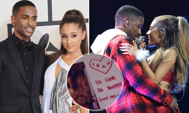 Ariana Grande pictured with ex Big Sean sparking romance rumours