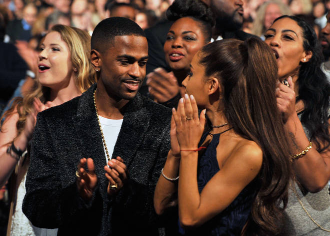 Ariana Grande and Big Sean together in 2015