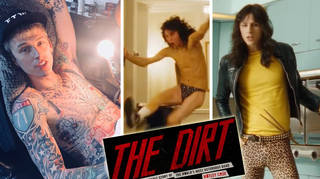 Machine Gun Kelly looks totally different in The Dirt.