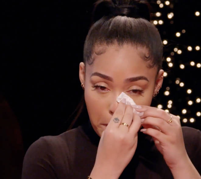 Jordyn Woods has set the record straight on Red Table Talk