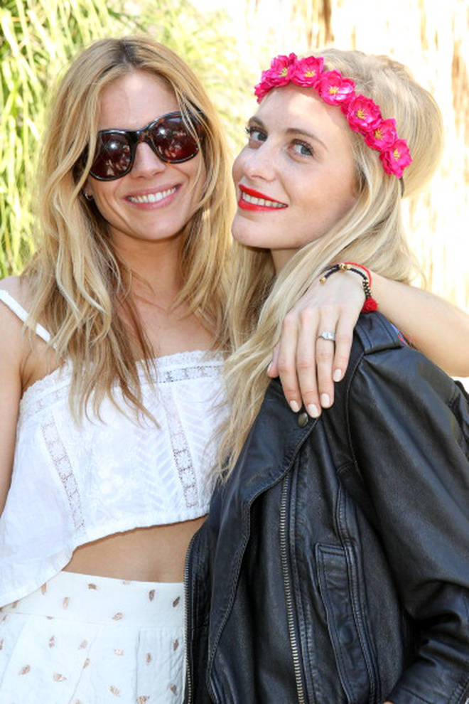 Poppy Delevingne celebrated her hen do with Sienna Miller at Coachella