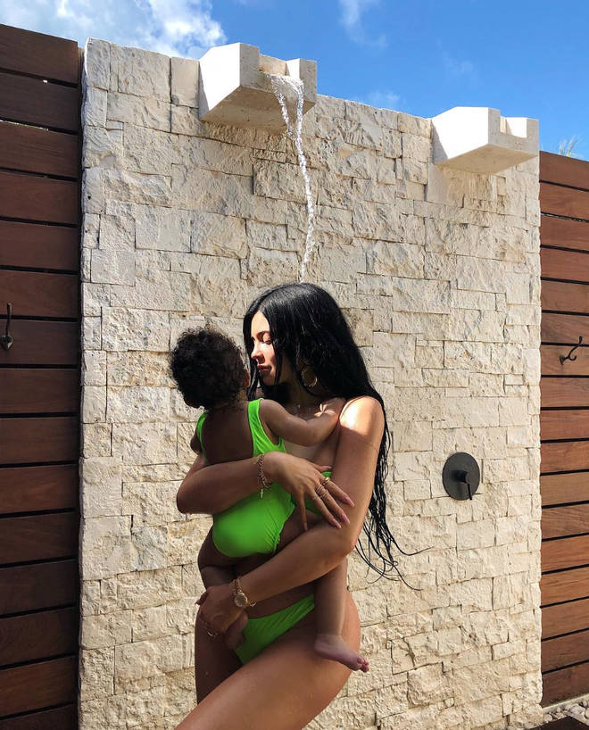 Kylie Jenner is also mother to Stormi Webster