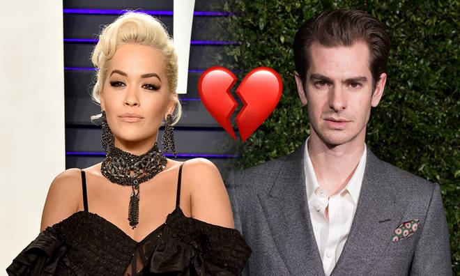 Rita Ora and Andrew Garfield have split