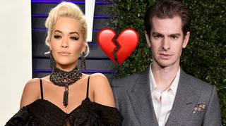 Rita Ora and Andrew Garfield have split
