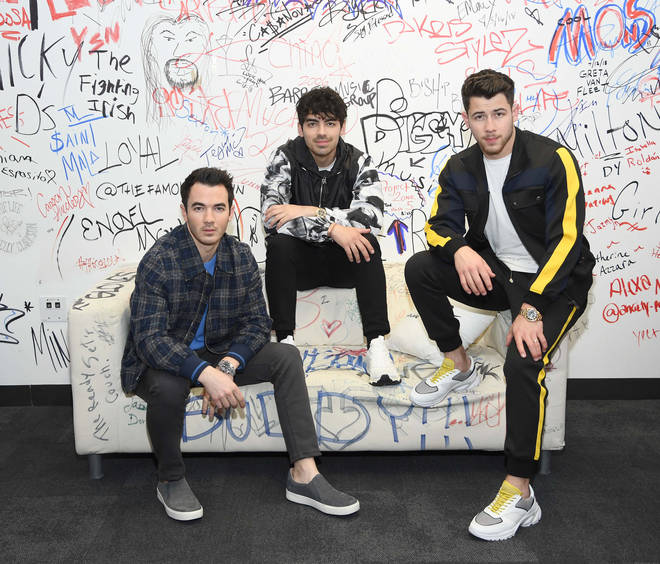 The Jonas Brothers are back with their new hit 'Sucker'
