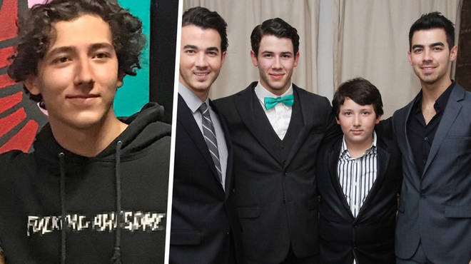 There's a fourth Jonas brother... Frankie!