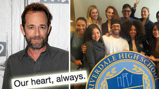 Riverdale's creator paid tribute to Luke Perry.