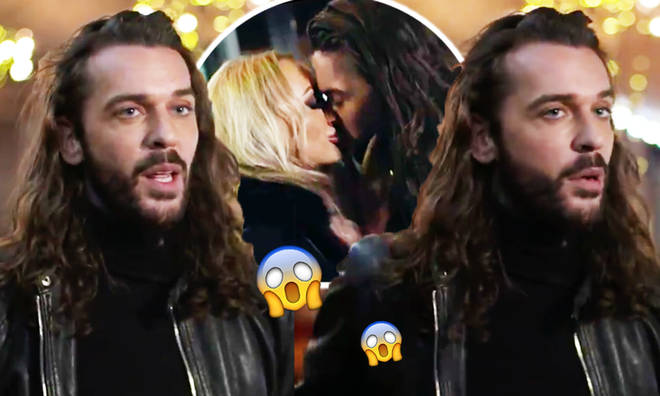 Pete Wicks snogs his Celebs Go Dating date he already knows