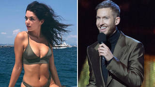 Calvin Harris and girlfriend Aarika have been back together for one year