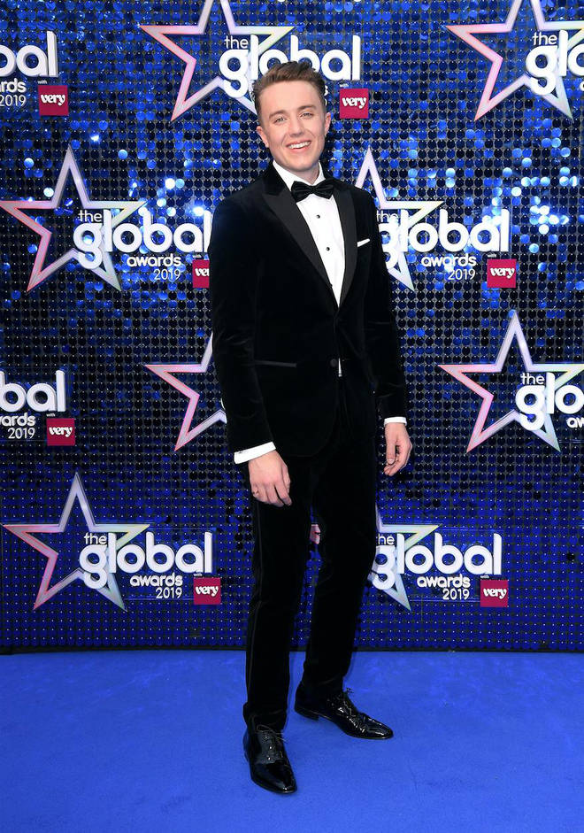 Roman Kemp arriving at The Global Awards 2019 with Very.co.uk