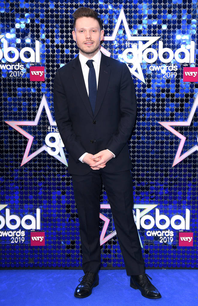 Will Manning walks the blue carpet at the 2019 Global Awards
