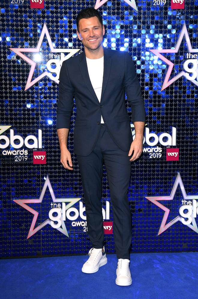 Mark Wright steps out at the 2019 Global Awards