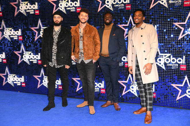 Rak-Su are also here at the 2019 Global Awards