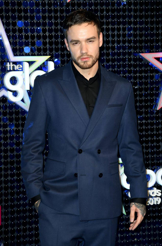 Liam Payne arrives at The Global Awards 2019 with Very.co.uk