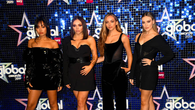 Little Mix arrived at the Global Awards 2019 in style