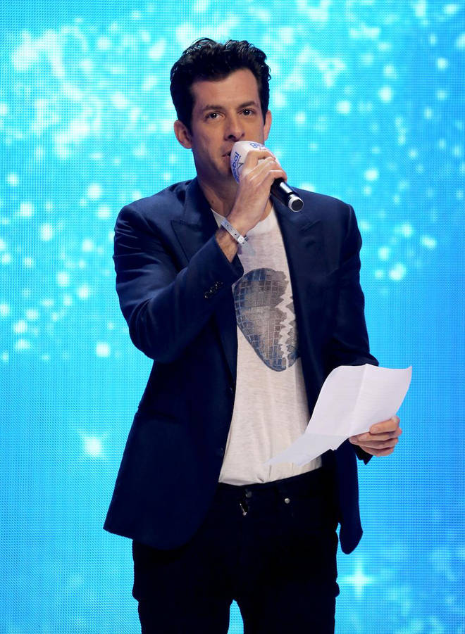 Mark Ronson wins The Global Special Award.