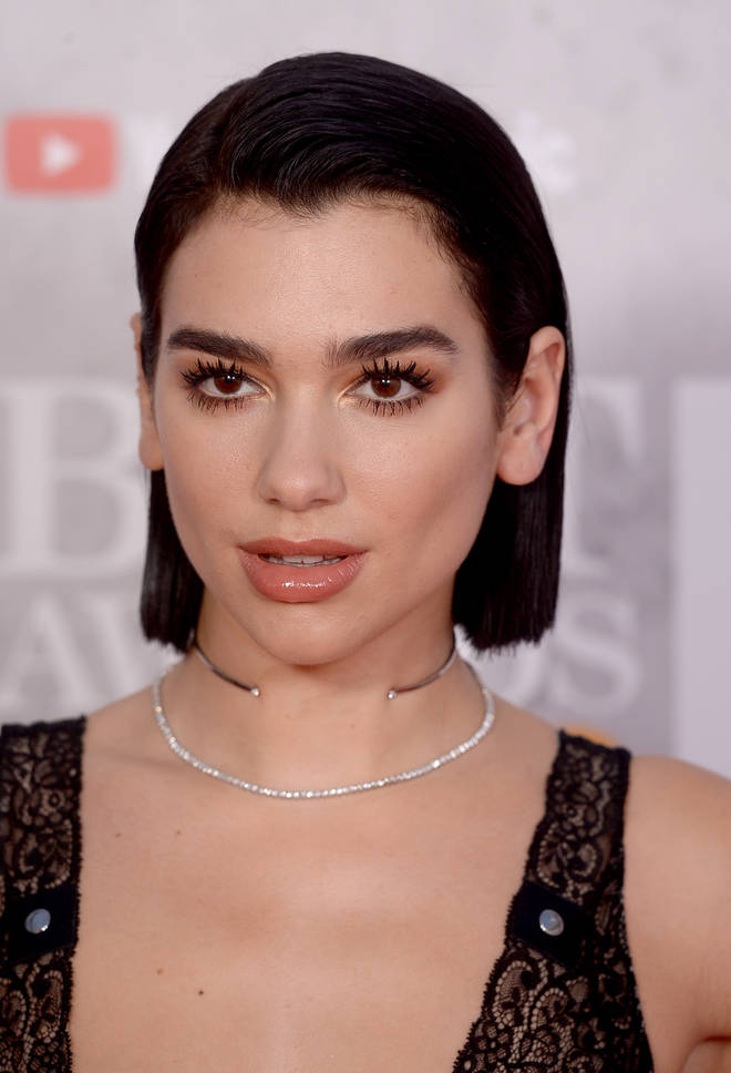 Dua Lipa wins Best British Artist or Group.