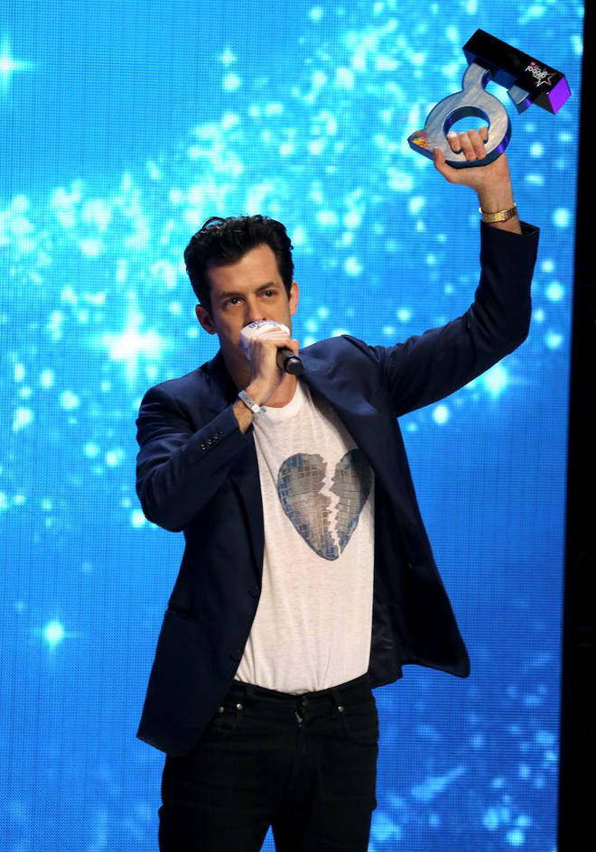 Mark Ronson wins Best Male.