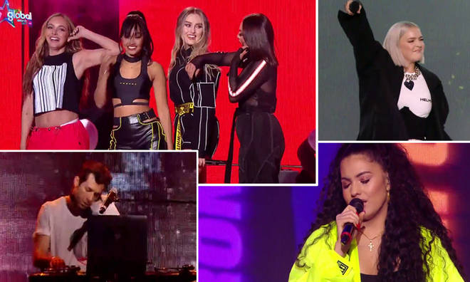 The Global Awards were full of energetic performances