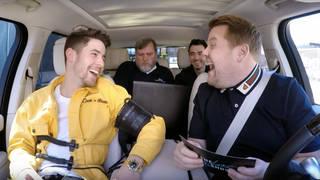 The Jonas Brothers took on a lie detector in their Carpool Karaoke