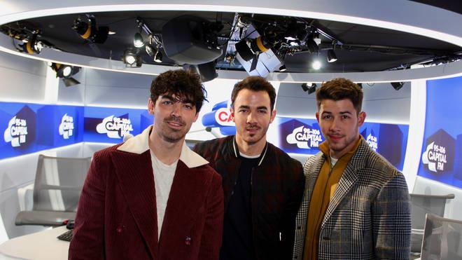 The Jonas Brothers sang 'Sucker' during Carpool Karaoke