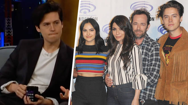 Cole Sprouse reveals how the Riverdale cast are coping after Luke Perry's death.