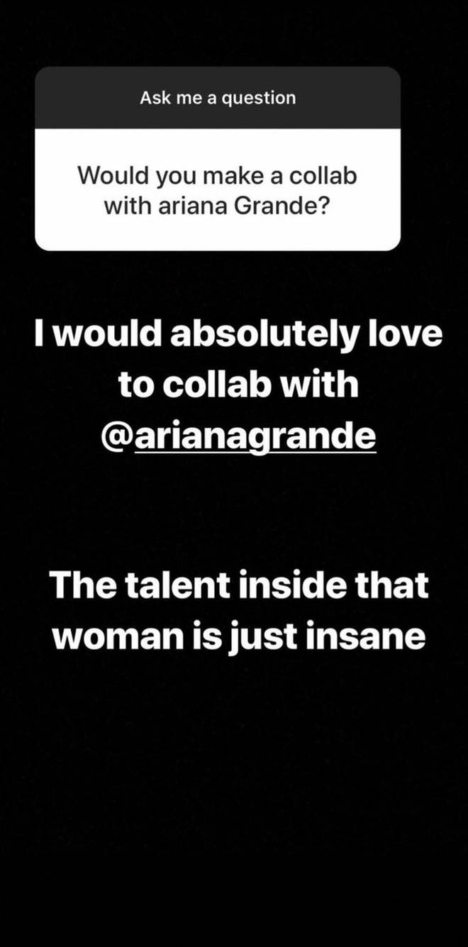 Niall Horan complimented Ariana Grande, hoping to collaborate with her