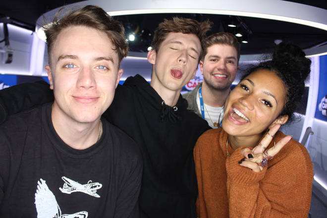 Troye Sivan spoke to Capital Breakfast about Ariana Grande