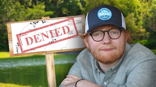 Ed Sheeran's pond was investigated over claims he was using it as a pool
