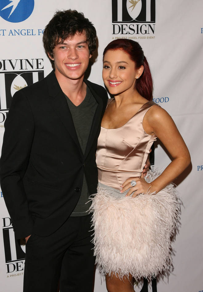 Ariana Grande and Graham Phillips met when they were both cast in Broadway show 13