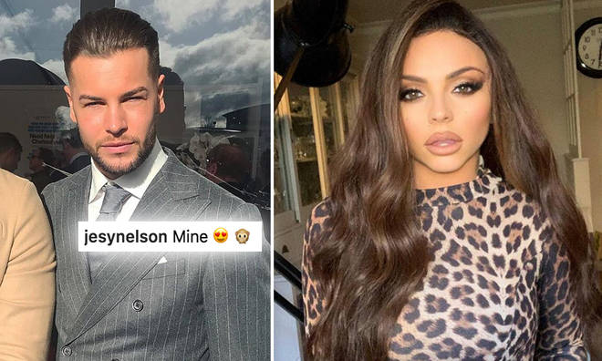 Chris Hughes and Jesy Nelson have been packing on the PDA over Instagram