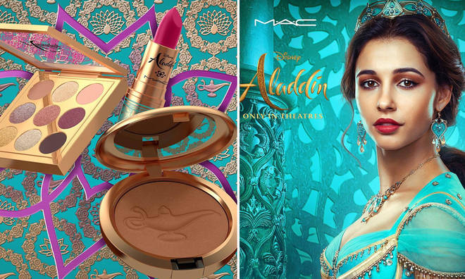 MAC is launching an Aladdin-inspired collection