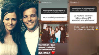 Felicité wrote about Louis Tomlinson on her Instagram days before her passing