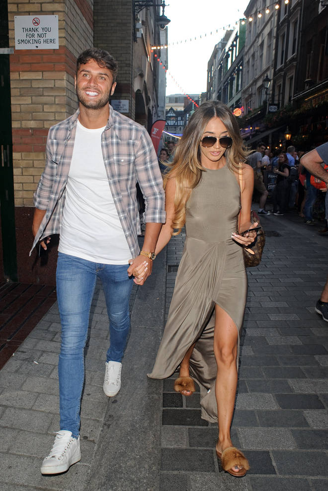 Mike Thalassitis had previously dated Megan McKenna,