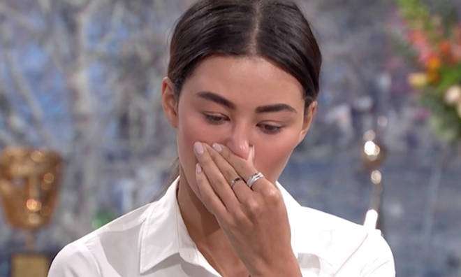 Montana Brown broke down as she recalled the last message Mike Thalassitis sent her