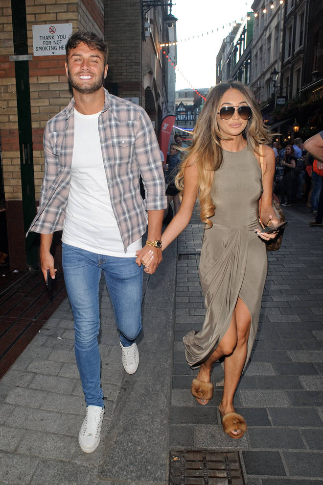 Megan McKenna and Mike Thalassitis were together for eight months