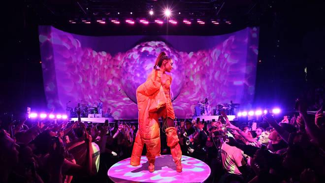 Ariana Grande opened her 'Sweetener' World Tour in New York
