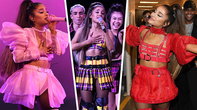 ab5caacef7c Ariana Grande s Tour Outfits - Here s All Of The Costumes From Her  Sweetener World Tour