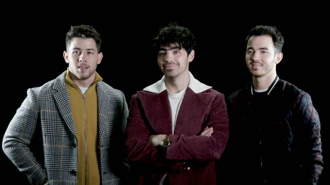 The Jonas Brothers rewatch their old viral videos