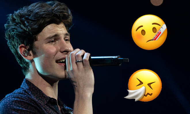 Shawn Mendes is currently resting his voice as he battles a cold