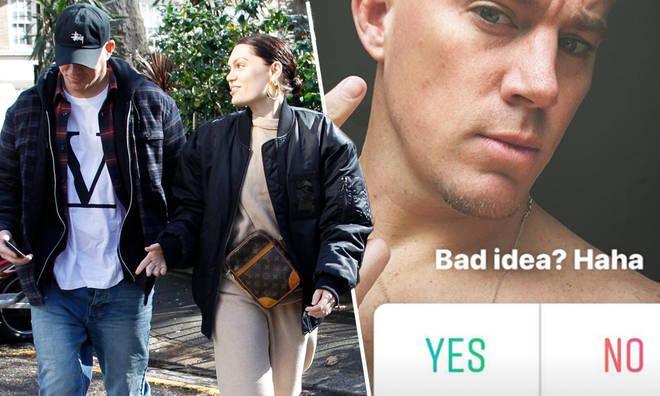 Channing Tatum shares drastic hair change as he hangs out with Jessie J