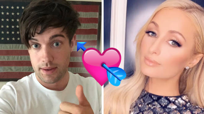 Jack Whitehall and Paris Hilton have been commenting on each other's Instagram posts