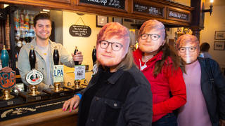 Sonny Jay hosted the opening of the 'Shape of Brew' pub in London