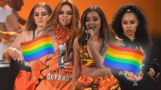 Little Mix perform 'Secret Love Song' in Dubai
