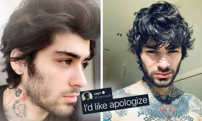 Zayn Malik apologises for being a 'sh*t person' on Twitter