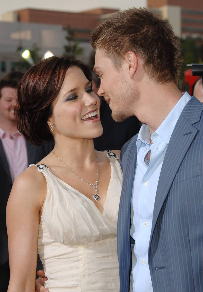 Chad was also married to One Tree Hill co-star Sophia Bush for a year