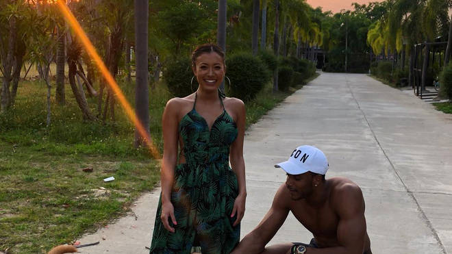 Love Islanders, Kaz Crossley and Theo Campbell, holidayed together in Thailand