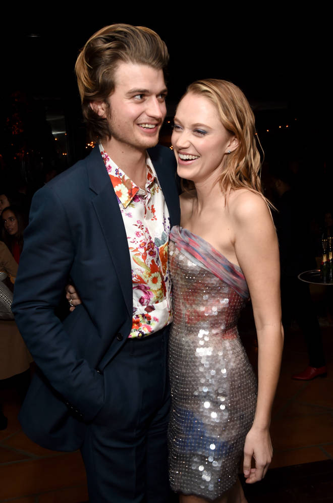 Joe is dating American actress Maika Monroe